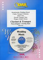 Wedding Music - Clarinet/Trumpet Duet (with CD) Sheet Music