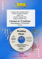 Wedding Music - Clarinet/Trombone Duet (with CD) Sheet Music