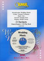 Wedding Music - Clarinet Duet (with CD) Sheet Music