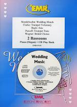 Wedding Music - Bassoon Duet (with CD) Sheet Music