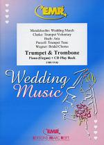 Wedding Music - Trumpet/Trombone Duet (with CD) Sheet Music
