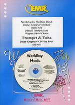 Wedding Music - Trumpet/Tuba Duet (with CD) Sheet Music