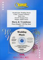 Wedding Music - Horn/Trombone Duet (with CD) Sheet Music