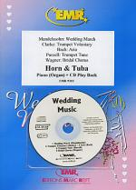 Wedding Music - Horn/Tuba Duet (with CD) Sheet Music
