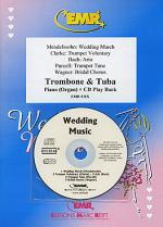 Wedding Music - Trombone/Tuba Duet (with CD) Sheet Music