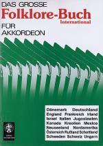 Das grosse Folklore-Buch fur Akkordeon Sheet Music