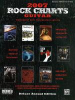 2007 Rock Charts Guitar Sheet Music
