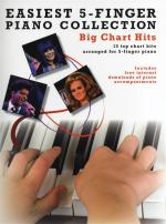 Easiest 5-Finger Piano Collection: Big Chart Hits Sheet Music
