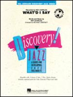 What'd I Say, Tenor Sax 2 part Sheet Music