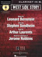 Instrumental Play-Along: West Side Story - Clarinet Sheet Music