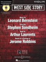 Instrumental Play-Along: West Side Story - Violin Sheet Music