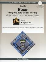32 Rose Etudes For Flute Sheet Music
