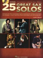 25 Great Sax Solos Sheet Music