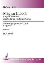 Magyar Etudok Sheet Music