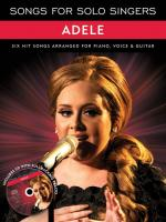 Songs For Solo Singers: Adele Sheet Music