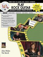 Play Rock Guitar -- Beginning Chords, Strums, and Riffs Sheet Music