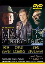 Masters of Fingerstyle Guitar, Volume 1 DVD Sheet Music