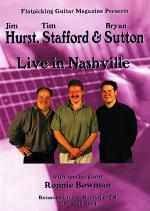 Hurst, Stafford & Sutton Live in Nashville DVD Sheet Music