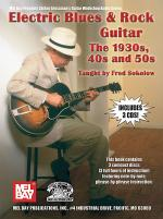 Electric Blues & Rock Guitar - The 1930s, 40s and 50s Book/CD Set Sheet Music