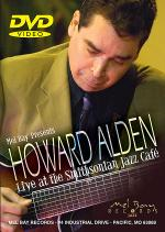 Howard Alden Live At The Smithsonian Jazz Cafe DVD Sheet Music