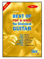 Best Of Pop & Rock for Classical Guitar 5 Sheet Music