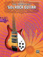 The Greatest '60s Rock Guitar Sheet Music