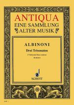 3 Triosonaten op. 1/10-12 Sheet Music