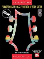 MBGU Rock Curriculum: Foundations of Rock - Evolution of Rock Guitar Book/CD/DVD Set Sheet Music