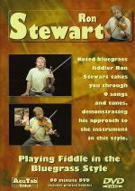 Ron Stewart: Playing Fiddle in the Bluegrass Style DVD Sheet Music