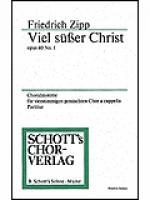Zwei geistliche Choralmotetten op. 40 Sheet Music