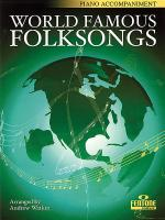 World Famous Folksongs Sheet Music