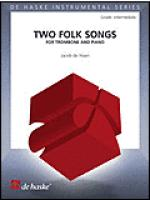 Two Folk Songs for Trombone and Piano Sheet Music