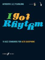 Hampton A /I Got Rhythm/Book & CD/Asax Sheet Music