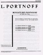 Russian Fantasia No. 3 in A Minor Sheet Music