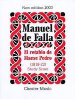 Manuel De Falla: El Retablo De Maese Pedro (Study Score) Sheet Music