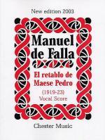 El Retablo De Mases Pedro Sheet Music