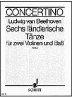6 landlerische Tanze D-Dur Sheet Music