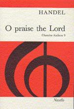 Handel: O Praise The Lord Sheet Music