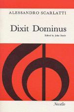 Dixit Dominus Sheet Music