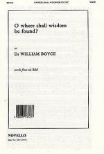 O Where Shall Wisdom Be Found? Sheet Music