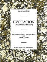 Albeniz Evocacion (llobet) 2 Guitars Sheet Music