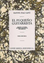 Diaz Cano El Pequeno Guitarrista 34 Estudios Melodicos Progresivos Sheet Music