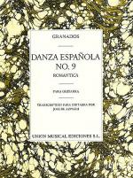 Granados Danza Espanola No.9 Sheet Music
