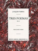 Tres Poemas, Op.81 Sheet Music
