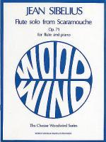 Jean Sibelius: Flute Solo (Scaramouche) Op.71 Sheet Music