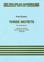 Three Motets Sheet Music