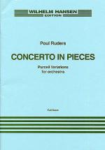 Poul Ruders: Concerto In Pieces (Purcell Variations) Score Sheet Music