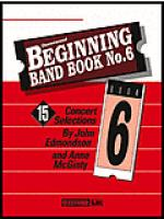 Beginning Band Book#6 Baritone T.C. Sheet Music