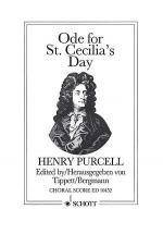 Ode for St. Cecilia's Day 1692 Sheet Music