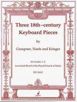 Three 18th Century Keyboard Pieces Sheet Music